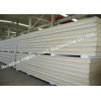Meat PU Insulated Cold Room Panel And Panel Polyurethane Construction With Low Temperature Manufactures