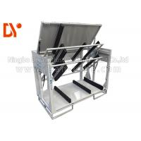 Turn Over Workshop Tool Trolley Anti Static Customized Size Cold Pressing / Rolling Manufactures