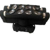 Quality Professional 8* 10W Mini LED Spider Light / Led Moving Head Lights For Small Concerts for sale