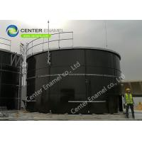 Factory Coated Glass Lined Steel Leachate Storage Tanks Confirmed To AWWA Standards Manufactures
