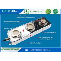 Industrial 3 Head Ultrasonic Mist Maker For Greenhouse Aeromist Hydroponics Manufactures