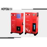 60HZ Car / Motorcycle Nitrogen Tire Filling Equipment , Nitrogen Gas Inflator Manufactures