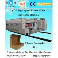 China Fully Automatic Carton Making Machine With 7.2mm Thickness Of Printing Plate on sale