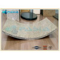 Buy cheap Curved Honeycomb Granite Stone Panels , Ultra thin Granite Panels of Special Shape from wholesalers