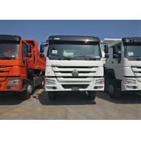 336HP Heavy Dump Truck ZF Driving Steering 6x4 Driving Type Euro 2 Emission Manufactures