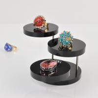 Round Shape 5mm Thickness Acrylic Jewelry Display Stand Wholesales Manufactures