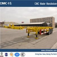 40' skeleton container trailers with 8 or 12 twist locks Manufactures