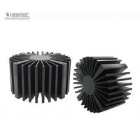 China T4 T5 T6 Temper Heat Sink Aluminium Extrusion Profiles with Black Anodized on sale
