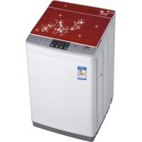China Red 8kg Top Loading Fully Automatic Washing Machine With Pump And Copper Motor Optional on sale