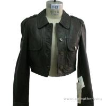 Ladies' Leather Blazer (043) Manufactures