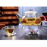 Handblown 650ml Glass Teapot With Infuser Environmental Microwave Safe Manufactures