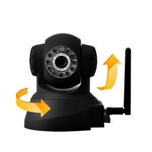 H.264 720P Megapixel Wireless IP CCTV Camera , Wifi Night Vision Security Camera IR-Cut Manufactures