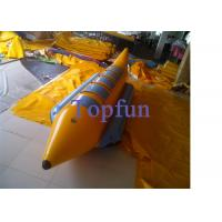 Rafting Inflatable Banana Boat Water Ski With High Speed / Banana Boat Water Sport Ski