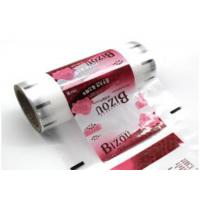 China Custom Logo Plastic Packaging Wrap Roll Transparent Laminating For Tissue / Food on sale