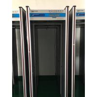 High Sensitivity Multi Zone Door Frame Metal Detector Walk Through For Security Manufactures