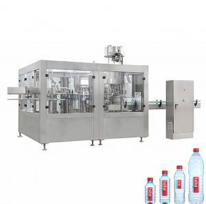 China Round Square PET Bottle Filling Machine , 3000-6000 BPH Beverage Filling Equipment on sale