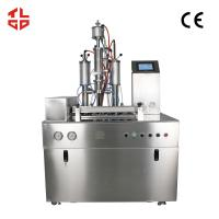 Low Noise Semi Automatic Aerosol Filling Machines For Hair Spray / Styling Gel Manufactures