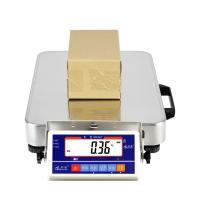 Handheld Digital Floor Scale 75kg White Color With Bluetooth Module