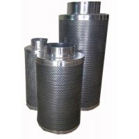 China Hydroponics Inline Fan 12 Activated Carbon Air Filter For Soilless Culture House on sale