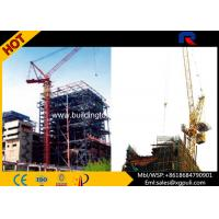 China Luffing Jib Tower Crane Boom Length 50m With Electric Switch Box on sale