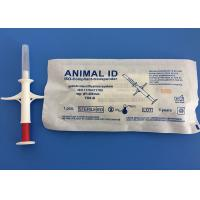 1.4*8mm White Iso Standard Microchip For Dogs / Cat Manufactures