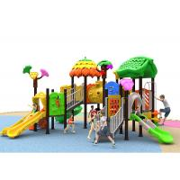China Eco Friendly Children Play Game Toys Plastic Outdoor Playground Slide For Kids on sale