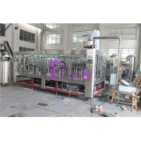 4 In 1 Plastic Bottle Liquid Filler Machine PLC Control With Touch Screen Manufactures