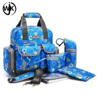 china guangzhou factory supplier mother baby quilted pink mummy diaper bag Manufactures