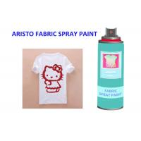 China Neon Alcohol Based Upholstery Fabric Spray Paint Leather With Excellent Coverage on sale