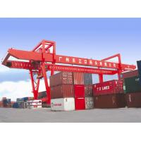 Quality 45ton Capacity Double Girder Rail Mounted Container gantry Crane for sale