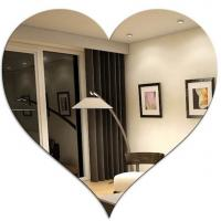 Wall Decoration Colored Mirror Acrylic Sheet With Custom Shape Manufactures