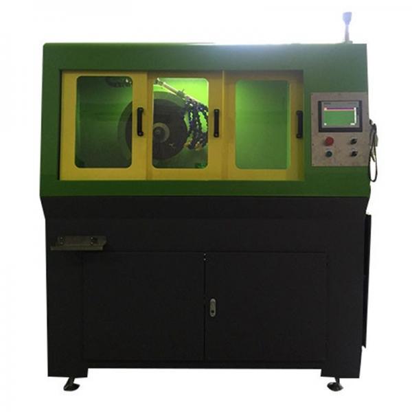 Quality Nanocrystalline Transformer Core Cutting Machine  Adjustable Feed Design for sale