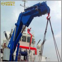Knuckle Boom Boat Marine Deck Crane Supplier with Folding Arm Marine Ship Deck Crane Manufactures