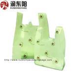 Supermarket LDPE Vest Bag Die Cut Handle Plastic Bags Heat Seal For T Shirt Manufactures