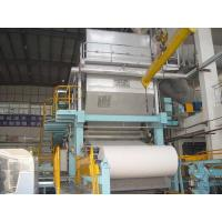 Toilet paper machine, 1-2T/D, raw material: waste paper,pure pulp Manufactures
