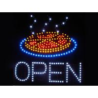 530x450mm customised OPEN led sign for pizza store Manufactures