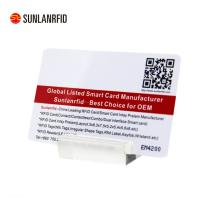 Transparent RFID Magnetic Strip Contactless IC Smart Combination Dual Interface Card Manufactures