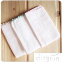 China Double Layers Soft Organic Cotton Baby Cloth Diapers For Boy / Girl on sale
