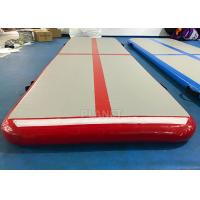 Home Inflatable Air Track PLG-047 PVC Tarpaulin Sides Easy Installation Manufactures