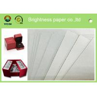 China High Stiffiness Grey Chip board Paper For Notebook Packaging 1250gsm / 2.00mm on sale