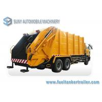 8000kg / 16M3 Load Waste Collection Truck Diesel Q235 Tank DONGFENG Manufactures