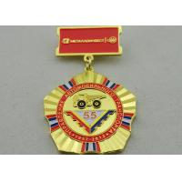 2D or 3D Brass Custom Awards Medals on Breast with Die Stamping, Photo Etching, Injection Manufactures