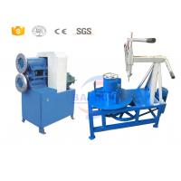 China Plastic Scrap Rubber Tires Recycling Machine With Powerful Engine CE Certificate on sale