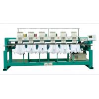 6 heads computerized embroidery machine for cap & t-shirt Manufactures
