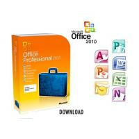 Quality Life Time Microsoft Office 2010 Pro Key Codes DVD USB Flash Drive 100% Useful for sale