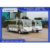 Amusement Park Or Campus Electric Tourist Car Recharge Time 8~10h Manufactures