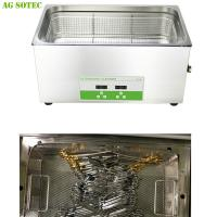 Water Bath Dental / Denture Lab Equipmen Sonicator For Laboratory Instrument Cleaning 30L Manufactures