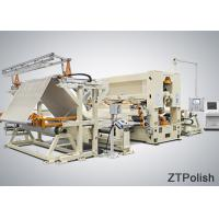 Quality ZT301 Stainless Steel Sheet Polishing Machine2800r/min Spindle Speed 380V Voltage for sale