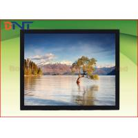 China 4 : 3 120 Inch Rear Projection Projector Screen For High-tier Office Fixed Frame Screen on sale