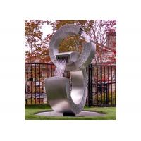 China Contemporary Stainless Steel Water Feature Garden Stainless Steel Water Fountain on sale